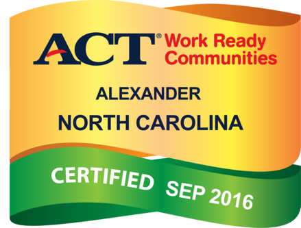 Official ACT Work Ready Communities Certified badge