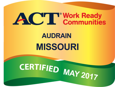 Act work ready communities act work ready community audrain county in missouri